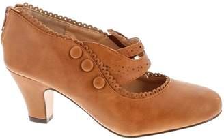 Chloé V-Luxury Chase & Womens 36-Mina4 Closed Toe Mary Jane High Heel Shoes