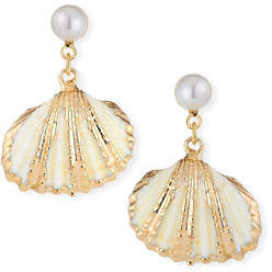 Auden Lala Shell-Drop Earrings