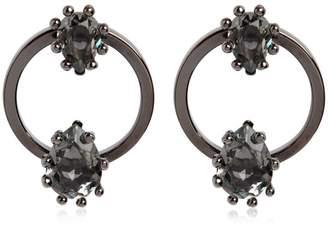 DSQUARED2 Jeweled Hoop Earrings