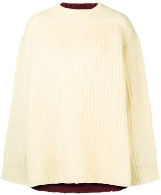 Calvin Klein oversized knit sweater