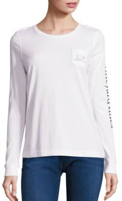 Vineyard Vines Pima Cotton Whale Tee $49.50 thestylecure.com