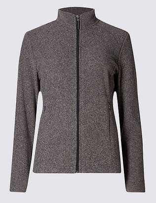 Marks and Spencer Funnel Neck Fleece Jacket