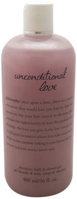 Philosophy Unisex 16Oz Unconditional Love Shampoo, Bath & Shower Gel