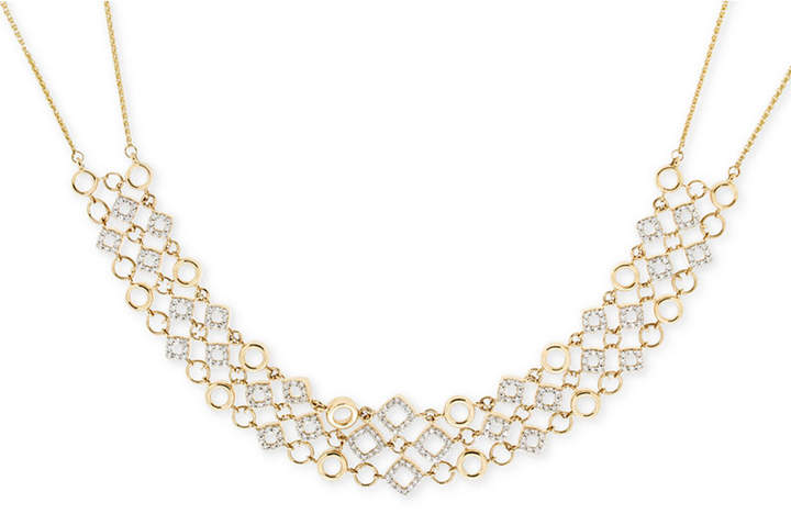 Wrapped in LoveTM Diamond Necklace (1 ct. t.w.) in 14k Gold, Only at Macy's
