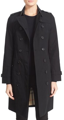 Burberry London Sandringham Long Slim Trench Coat $1,895 thestylecure.com