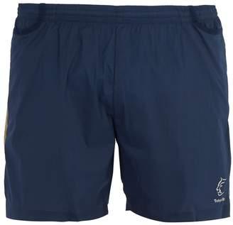 TETON BROS Logo technical Hybrid shorts