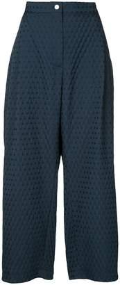 Natasha Zinko textured jacquard trousers