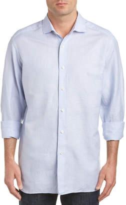 Ermenegildo Zegna Linen-Blend Sport Shirt