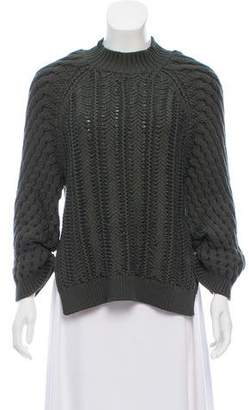 3.1 Phillip Lim Long Sleeve Chunky Knit Sweater