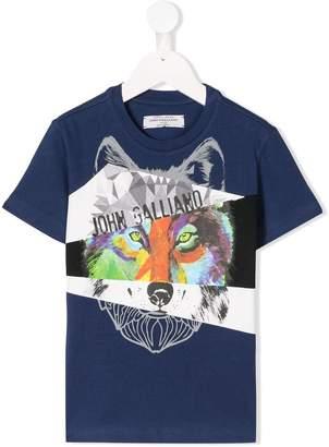 John Galliano (ジョン ガリアーノ) - John Galliano Kids プリント Tシャツ