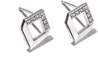 JOLLY BIJOU - Chevron Diamond Earrings