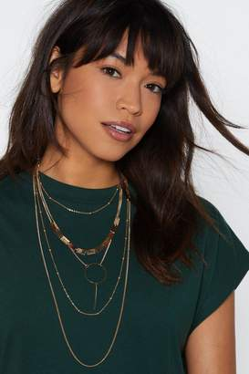Nasty Gal On Your Radar Layered Necklace