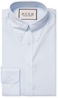 Thomas Pink Men's Solid Oxford Dress Shirt
