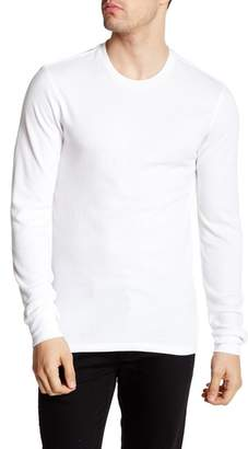 Public Opinion Crew Neck Thermal Tee