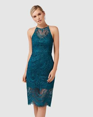 Forever New Nadia Lace Pencil Dress