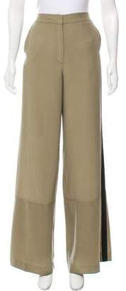 Robert Rodriguez High-Rise Silk Pants w/ Tags