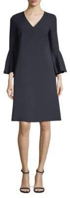 Lafayette 148 New York Holly Bell-Sleeve Shift Dress