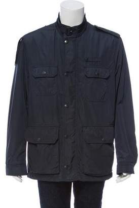 Burberry Long Sleeve Zip-Up Jacket