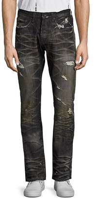 PRPS Men's Agreement Demon Distressed Jeans