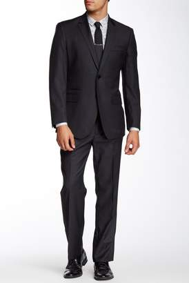 English Laundry Notch Lapel Welt Ticket Pocket Wool 2-Piece Suit