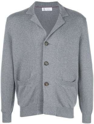 Brunello Cucinelli button knitted cardigan