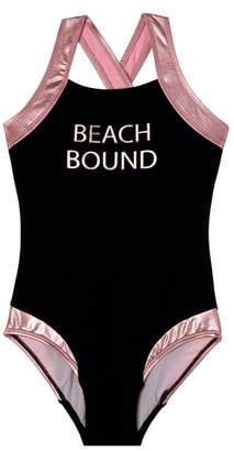 Gossip Girl Beach Bound One-Piece Swimsuit
