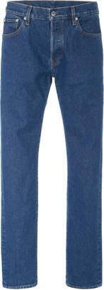 Simon Miller True Blue Mid-Rise Straight-Leg Jeans