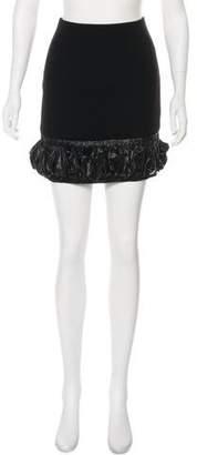Christopher Kane Mini Ruffled Skirt