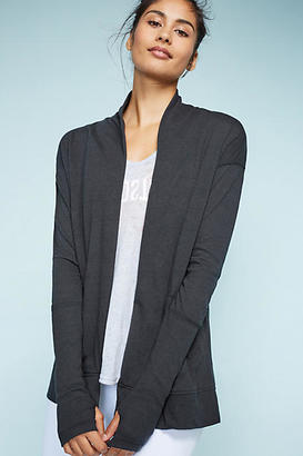 Alternative Apparel Ribbed Sleeve Cardigan $38 thestylecure.com