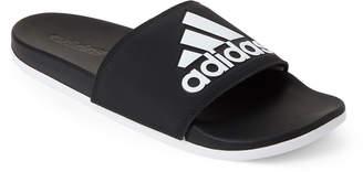 d914d3ef29ba adidas Black   White Adilette Comfort Slide Sandals