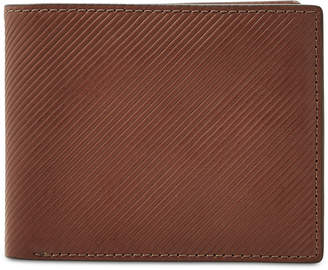 Fossil Men's Niles Embossed Leather Bifold Wallet