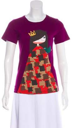 Marc by Marc Jacobs Short Sleeve Graphic Print T-Shirt