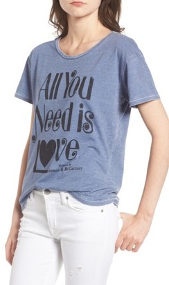 Women's Junk Food All You Need Tee $50 thestylecure.com