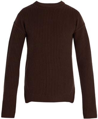 Rick Owens Fisherman ribbed wool sweater