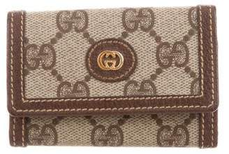 Gucci Vintage GG Plus 6 Key Holder