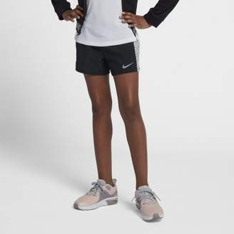 Nike Dri-FIT Older Kids'(Girls') Printed Running Shorts