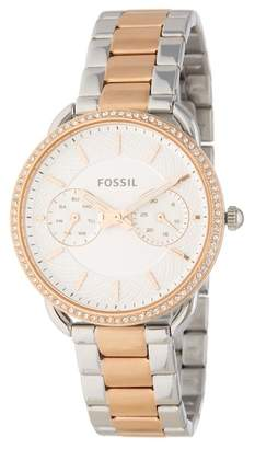 Fossil Women's Tailor Crystal Embellished Bracelet Watch, 35mm