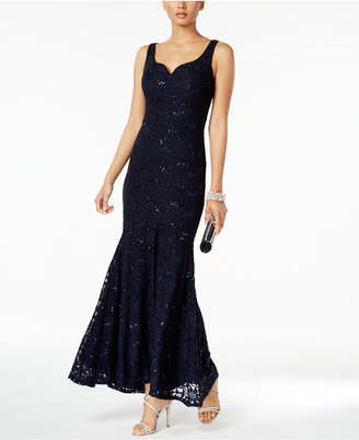 Betsy & Adam Lace Mermaid Gown $219 thestylecure.com