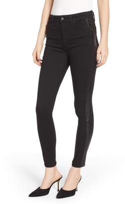 Joe's Jeans Flawless - Charlie Side Stripe High Waist Ankle Skinny Jeans