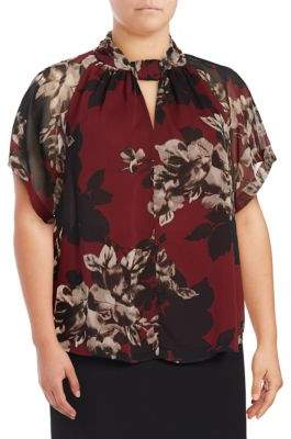Rachel Roy Plus Short Sleeve Top