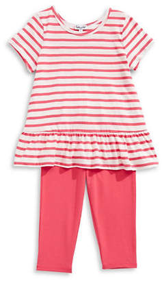 Splendid Striped Top and Leggings Set