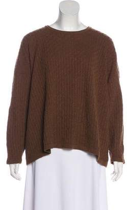 eskandar Oversize Cable-Knit Sweater