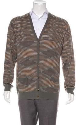 Missoni Wool Striped Cardigan w/ Tags