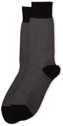 75a8ceb052c at Century 21 · Bruno Magli Micro Dot Dress Socks