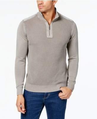 Tommy Bahama Men's Coastal Shores Knit Quarter-Zip Sweater