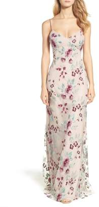 Jenny Yoo Julianna Embroidered Gown