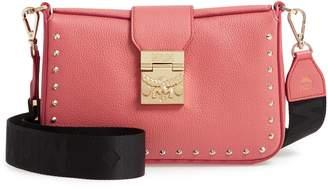 MCM XS Park Avenue Kasion Stud Leather Crossbody Bag
