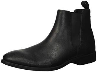 Calvin Klein Men's Carter Small Tumbled Leather Chelsea Boot