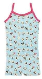 Esme Toddler's, Little Girl's& Girl's Emoji Pajama Set