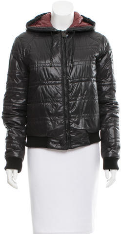 Chanel Chanel Hooded Puffer Jacket